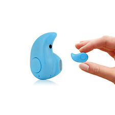 Oreillette Bluetooth Sans Fil Ultra Mini Pour Smartphones IPhone Neuf - BLEU