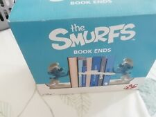 Vintage Smurfs Bookends (in Box)