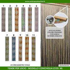 Tenda a fili in pvc conchiglia uscio porta finestra moschiera antimosche insetti