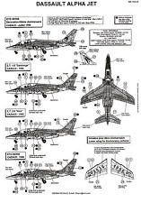 Berna Decals 1/144 DASSAULT ALPHA JET French Air Force
