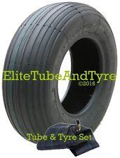 2.50-3 (210x65) 4ply Sack Truck & Mobility Tyre & Bent Metal Valve Inner Tube