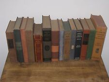 VTG + ANTIQUE BOOK LOT COLLECTION OF 14 BOOKS.
