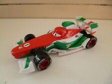 Francesso Bernoulli Race Car - V2800 Red White Green - Disney Cars Pixar - China