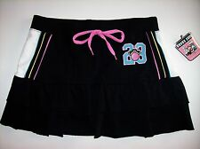 Bobby Jack Skort Girls Original Monkey 23 Sz 12-14 Large Black Layered NWT