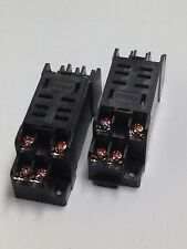 RELAY BASE  SOCKET FOR  RELAYS LY2 LY2J LY2N 2pcs