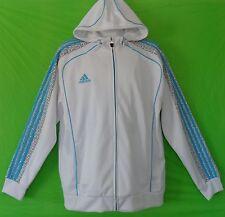 nwt~Adidas GRAPHIC HOODY Flock Jacket Track Sweat shirt top superstar~Mens sz XL