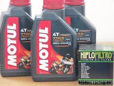 Motul Öl 7100 15W50 vollsyn / Ölfilter KTM 950 ab Bj 03