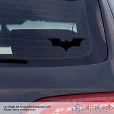 Batman Auto ventana calcomanía pegatina de vinilo Dc Negro