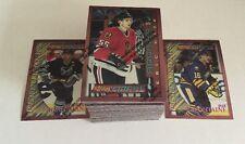 1995-96 Topps Finest Bronze Hockey 110 Card Set Nr/Mt-Mt