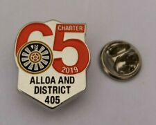 ALLOA & DISTRICT ROUND TABLE #409 2019 PIN BADGE