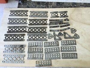 Meccano Nickel Parts-In fair condition.1920s.