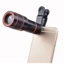12X Télescope Zoom mobile téléphone objectif pour iPhone Samsung Smartphone Clip