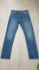 Men's Levis 522 Jeans  Blue Jeans W30 L32 Worn  Twice
