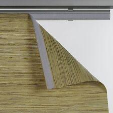 Flächenvorhang Stoff Bambus Vorhang Schiebevorhang Gardine Schal 60 cm x 245 cm