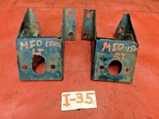 MG Midget 1500, Front left & Right Engine Mounts, Original, !!