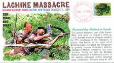 COVERSCAPE computer designed 330th anniversary Lachine Massacre event cover