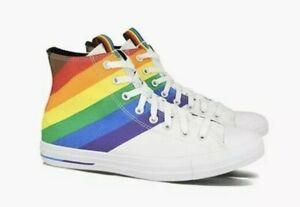 Converse Chuck Taylor All Star RAINBOW LGBTQ PRIDE SHOES 167758C M 6 W 8 New