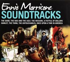 Ennio Morricone Soundtracks - 2 x CD Movie Themes - Slipcase - Ennio Morricone