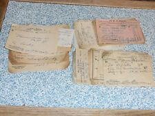 30 Filled In Dr. Prescriptions 1920'S-1930'S West Va., N.C., Roanoke Va.