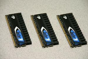 PATRIOT 1600mhz 240 pin DDR3 MEMORY 2GB (Set of 3) 6GB