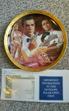 James Bond 007 - Set of 6 Franklin Mint Commemorative Plates