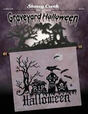 Graveyard Halloween LFT336 by Stoney Creek cross stitch pattern