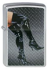 Zippo Briquet legs dans Boots street chrome sexy jambes Bottes Nouveau OVP