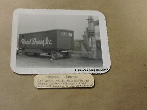 Circus Photo, Model Shows, No. 131 Wagon, Charleroi, PA.