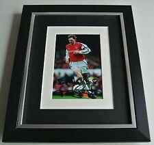 Tony Adams SIGNED 10x8 FRAMED Photo Mount Autograph Display Arsenal AFTAL COA