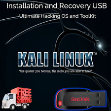 Kali Linux Bootable 16GB USB Live Install Ultimate Hacking Penetration Tools