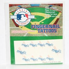 2 x Los Angeles Dodgers Temporary Fingernail Tattoos 2 SETS of 10 tattoos ea.