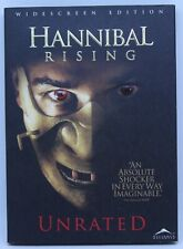 Hannibal Rising Unrated - DVD 2006 with slipcover