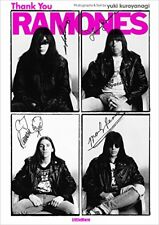 Ramones Japan Ultimate Guide Book Thank You Ramones 2017 Japan