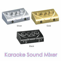 Karaoke Sound Echo Mixer KTV Effects Reverb MIC Preamp for Home Audio System