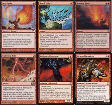 Mono Red Burn Deck - Lava Spike - Lightning Bolt - MTG Magic Gathering 60 cards