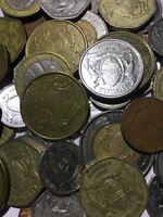 100 Gramm Restmünzen/Umlaufmünzen Botswana