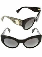 Versace sunglasses black gold glitter 5156/11 sonnenbrille