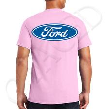 FORD Logo Adult's T-shirt Licensed Ford Design on the back Tee for Men - 1496B