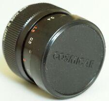 Cosmicar 25mm 1.8 Television lens, C mount | cine Ichizuka 25 f1.8 ICH TV