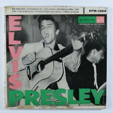 Rock & Roll 45 ELVIS PRESLEY Blue Suede Shoes RCA VICTOR 2X45 EP picture sleeve
