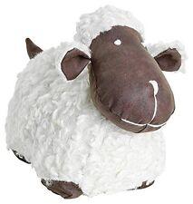 Doggy door stop - Sheep - White