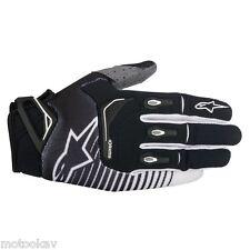 Guanto moto cross ALPINESTARS techstar gloves-BLACK WHITE taglia XL*