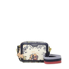 Radley London Sketchy Floral Small Zip-Top Cross Body Bag White NEW