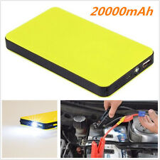 Multi-Function 12V 20000mAh Car Jump Starter Battery Charger Power Bank Booster