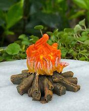 Miniature Dollhouse Fairy Garden ~ Mini Fire Pit Camping Campfire