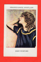 5Mary Pickford Spaniish Chocolates Amatller Film Star Card  6