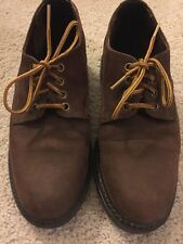 Roots Tuff Distressed (Color: Brown) Leather Men's Shoes Size 8