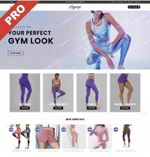 Womens Leggings Dropshipping Website Business Free Domain Hosting Amp Marketing