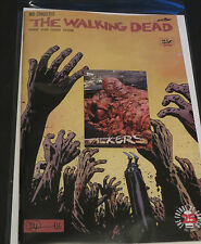 2017 THE WALKING DEAD #163 CONQUERED & FREE WALKERS  W3 TOPPS ZOMBIE INSERT CARD