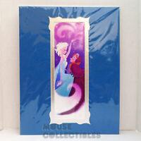 Disney Parks Art WonderGround Frozen Magic Anna Elsa 14x18 in Print Brittney Lee